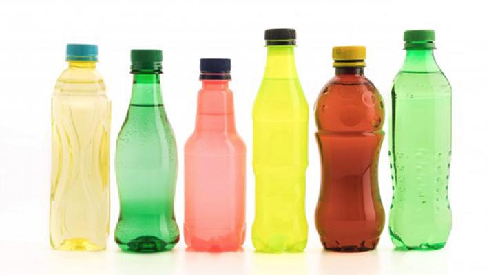 Unbranded beverage bottles