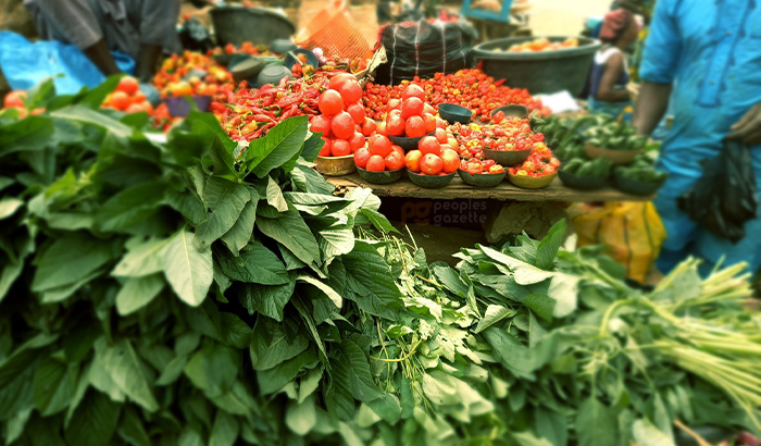 Vegetables (Credit: Ahmed Oluwasanjo/Peoples Gazette)