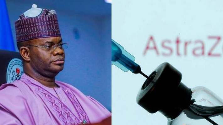 Yahaya Bello and the vaccine