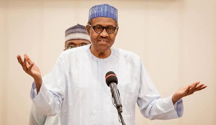 Shocked Buhari