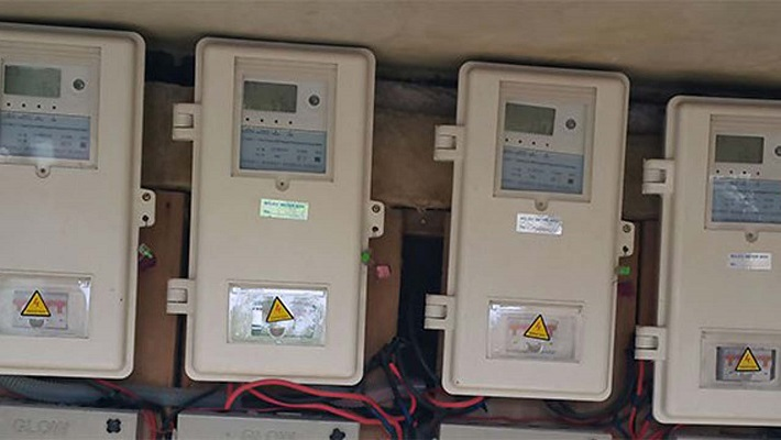 Electricity meters used to tell the story.