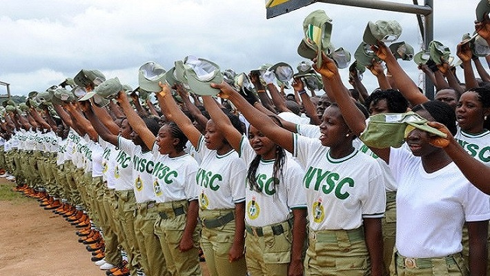 NYSC Corpers used to illustrate the story.